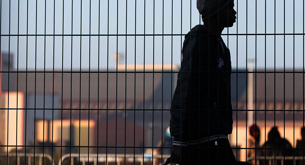 Bēglis Francijā. Foto no arhīva