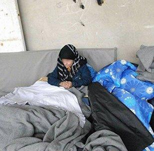 Сирия, раненые