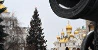 Соборная площадь Кремля, архивное фото
