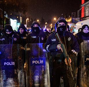 Policija terorakta vietā Stambulā
