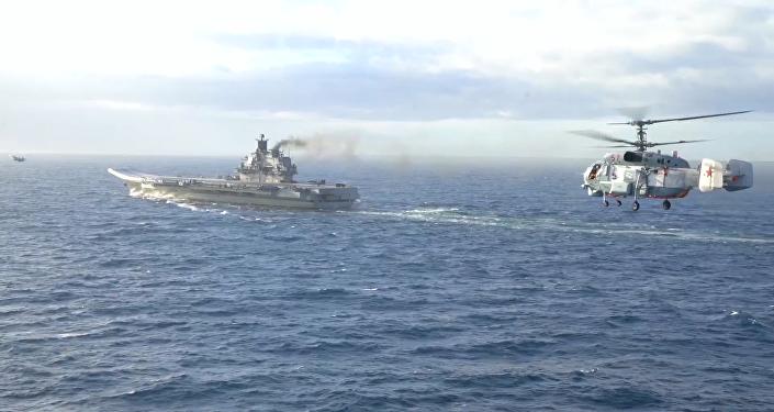 Британский флот готовится встретить авианосец «Адмирал Кузнецов»