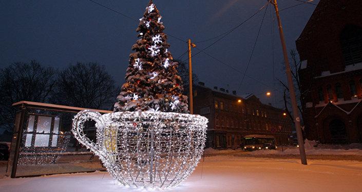 Елка Пауза на рождественское чаепитие