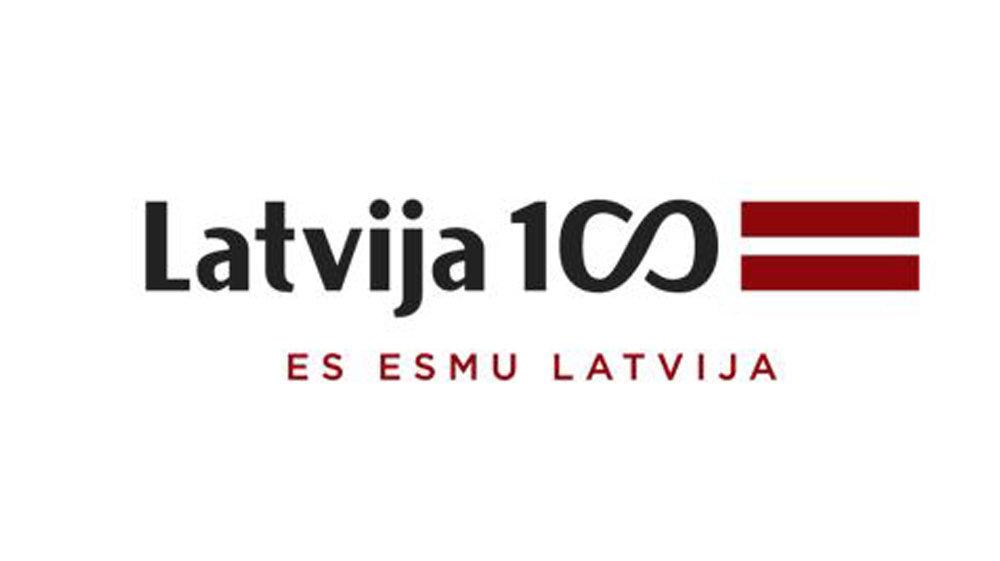 Символ 100-летия Латвии