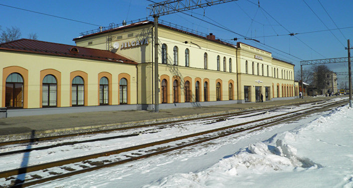 Jelgavas dzelzceļa stacija