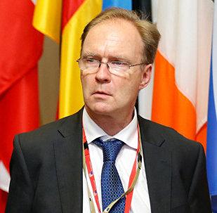 Lielbritānijas vēstnieks ES Aivens Rodžerss
