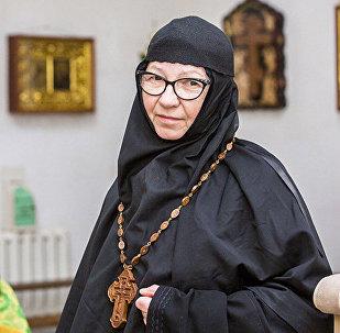 Sv. Ksenijas klostera priekšniece māte Vasilisa
