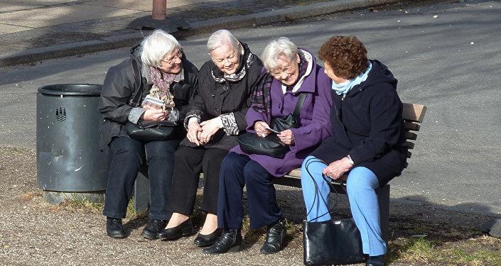 Cienījama vecuma cilvēki. Foto no arhīva