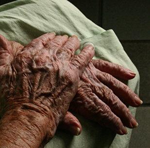 Pensionāre. Foto no arhīva