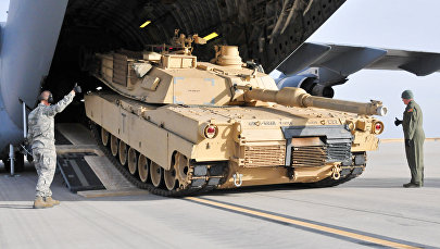 Tanka Abrams izkraušana