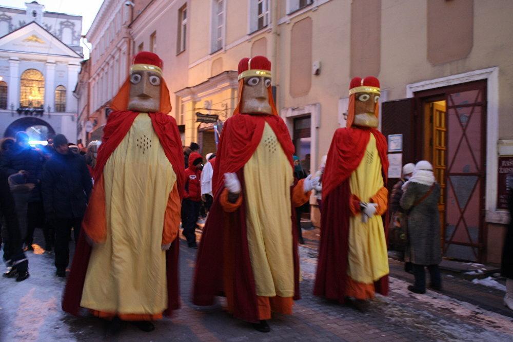 Trīs Karaļi – procesijas centrālās figūras