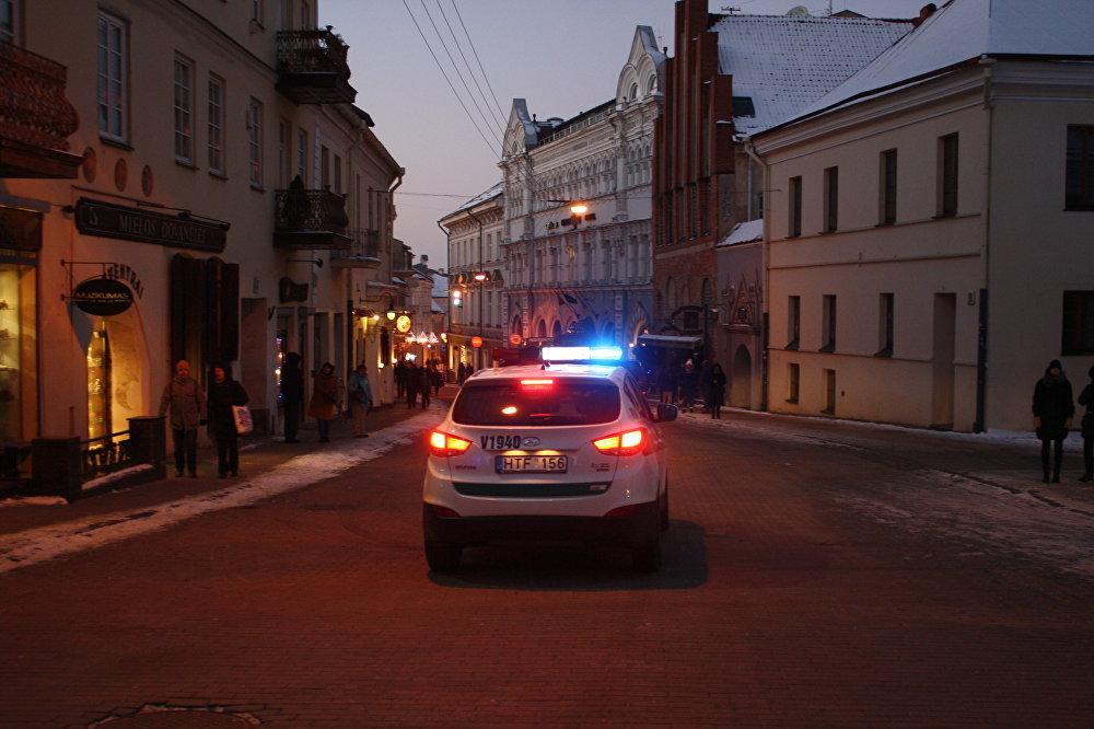 Kārtību pasākuma laikā uzraudzīja policijas vienības