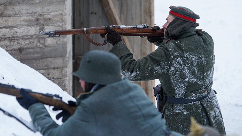Galvenā vācu armijas šautene Mauser K-98