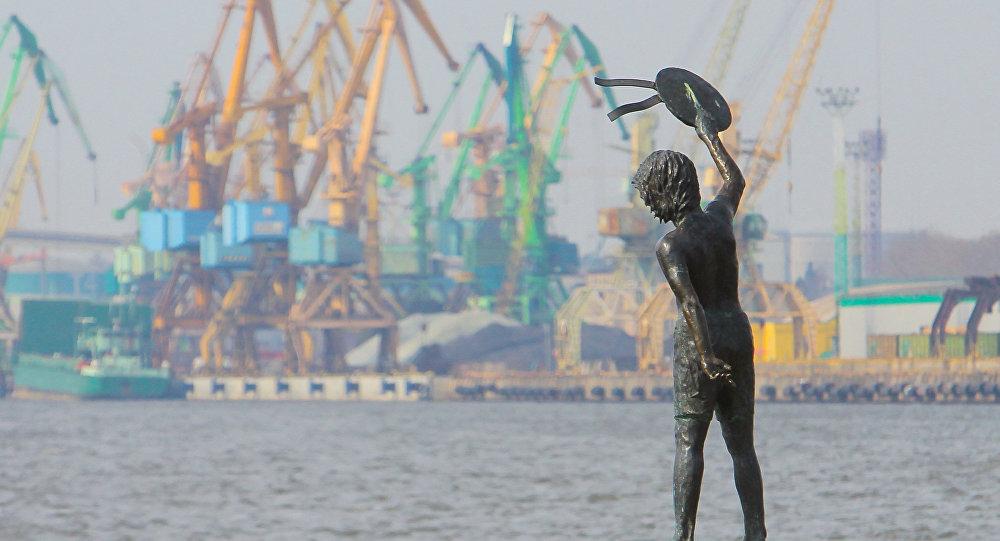 Клайпедский морской порт. Архивное фото
