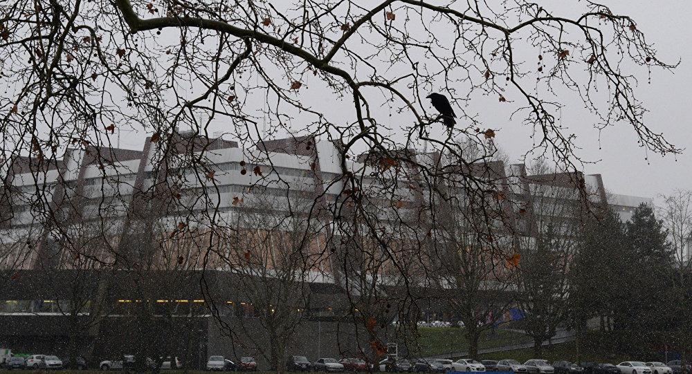 Дворец Европы в Страсбурге, где проходят заседания ПАСЕ. Архивное фото