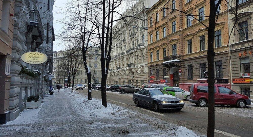 Iela Rīgā. Foto no arhīva