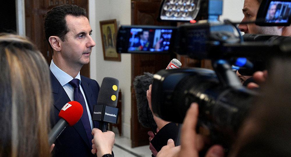 Асад подтвердил готовность кпереговорам поСирии вАстане