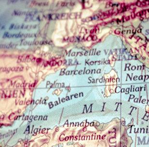 Европейские страны на карте