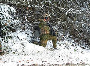 Военнослужащие НАТО во время учений, архивное фото