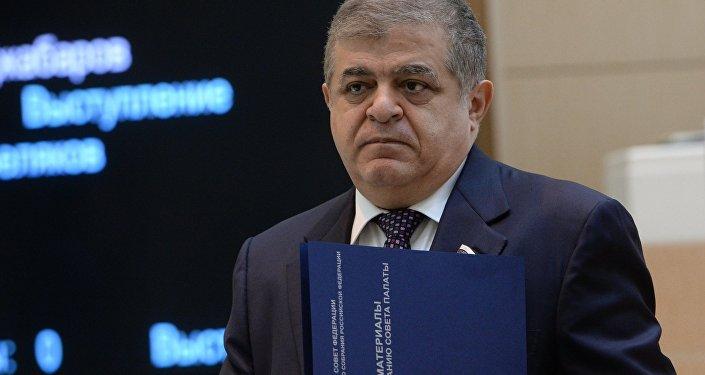 Первый заместитель председателя Комитета Совета Федерации по международным делам Владимир Джабаров, архивное фото