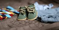 Детская обувь, архивное фото