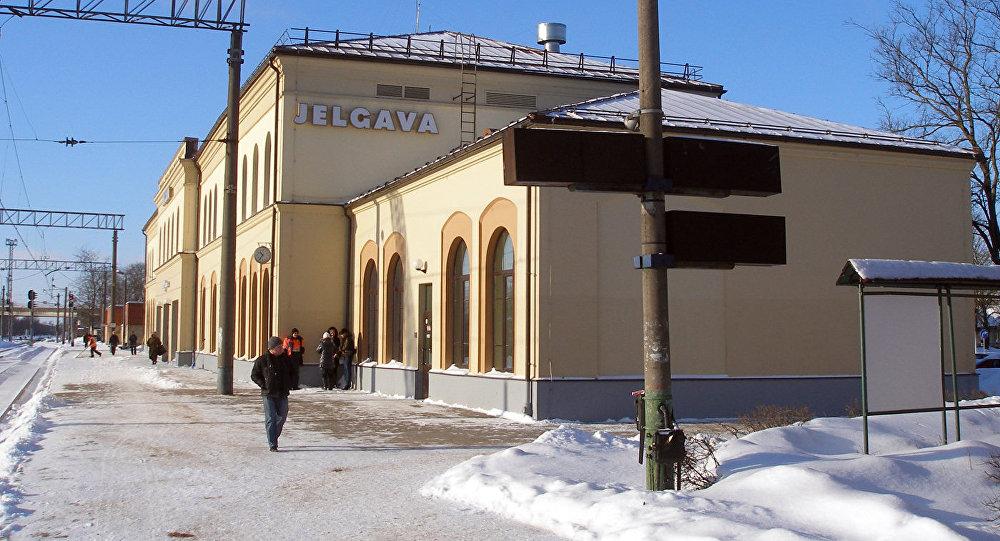 Станция Елгава