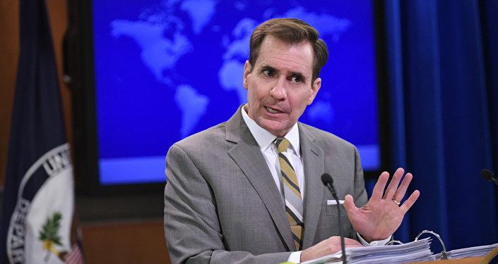 ASV Ārlietu ministrijas pārstāvis Džons Kirbijs