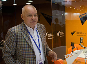 Informācijas aģentūras Rossija segodņa vadītājs Dmitrijs Kiseļovs