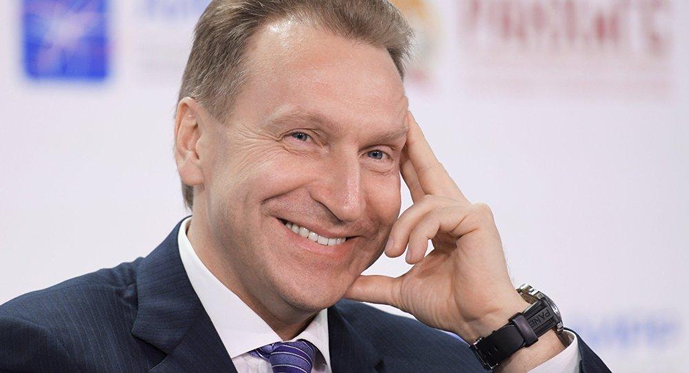 Kreivijas valdības pirmais vicepremjers Igors Šuvalovs