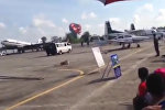 Истребитель разбился во время авиашоу в Таиланде