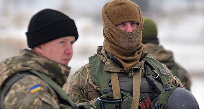 Ukraiņu karavīri