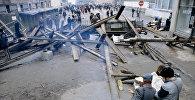Баррикады в Риге, архивное фото 1991 года