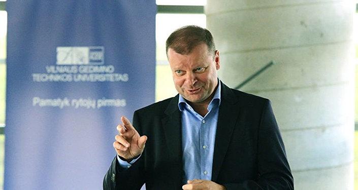 Lietuvas premjerministrs Sauļus Skvernelis