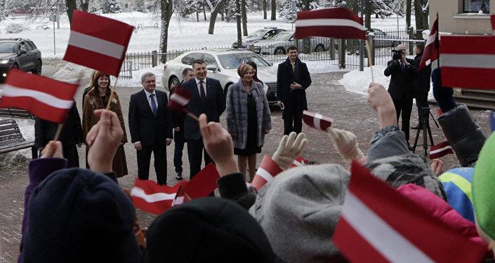 Раймондс Вейонис посетил Даугавпилсскую русскую среднюю школу - лицей
