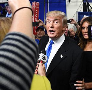 Jaunievēlētais ASV prezidents Donalds Tramps