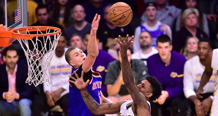 Баскетболист Кристапс Порзингис