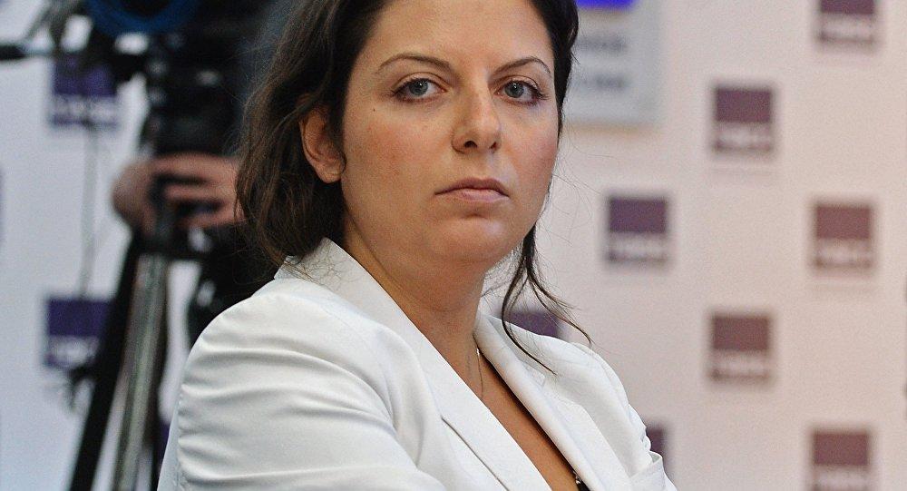 Galvenā RT un Sputnik redaktore Margarita Simoņana
