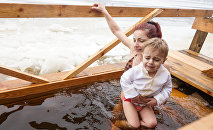 Праздник Крещения Господня в Риге