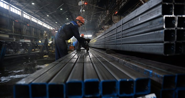 Metalurģijas rūpnīca. Foto no arhīva