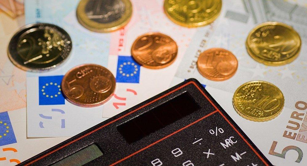 Eiro un kalkulators. Foto no arhīva