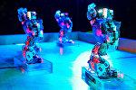 Бал роботов, танцующие роботы