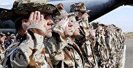 Spāņu karavīri. Foto no arhīva