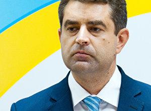 Посол Украины в Латвии Евгений Перебийнос