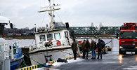 Ārkārtas notikums Daugavā: nogrimis kuģītis Bremene