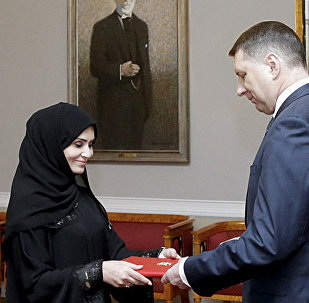Аккредитация посла из ОАЭ в Латвии Ханан Халфан Обаид Али Аль Мадхани