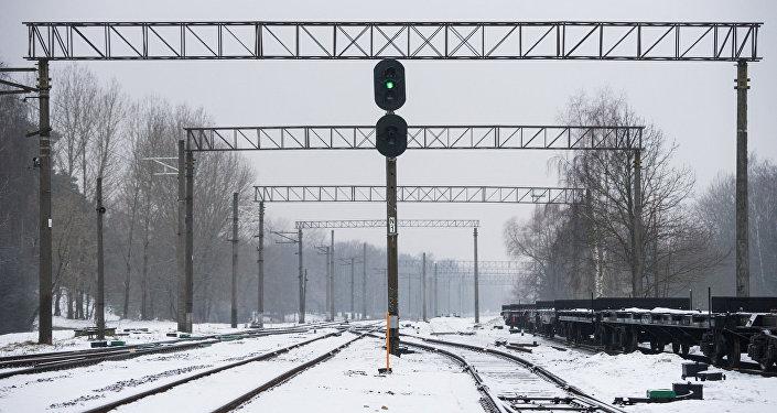 Латвийская железная дорога