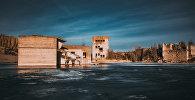 Затопленная тюрьма в карьере Румму в Эстонии