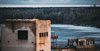 Appludinātais cietums Rummu karjerā Igaunijā