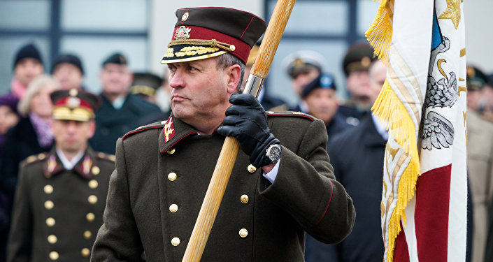 NBS komandieris Leonīds Kalniņš