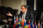 Лидер латвийского цыганского общества, глава международного союза ромов (IRU) Нормунд Рудевич