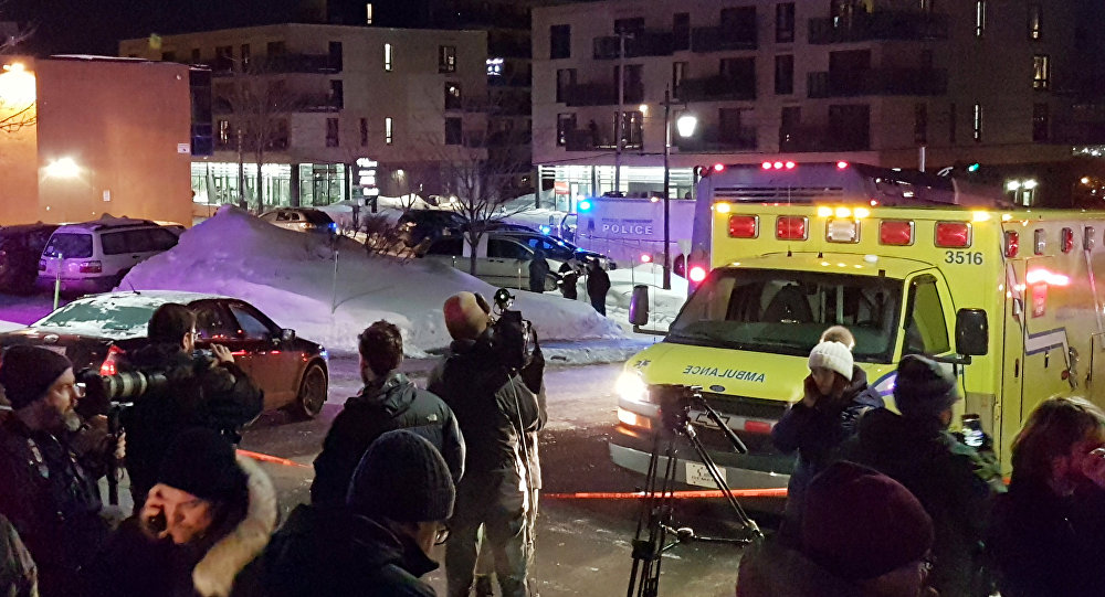 Apšaude mošejā Kanādā